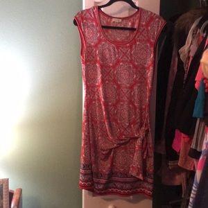 Max Studio side sash dress.